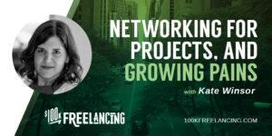 Kate WInsor profile on $100K Freelancing
